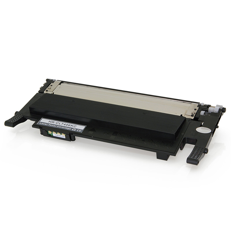 Compativel: Toner novasupri Samsung CLT-K406S Preto - CLP365W CLX3305W CLX3305FW CLX3300