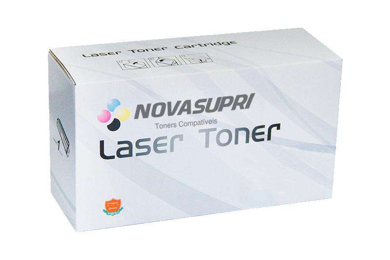 Compativel: Toner novasupri Samsung CLT-K407S Preto - CLP-320 325 320N 325W CLX-3185 3185N 3185FN 3185FW