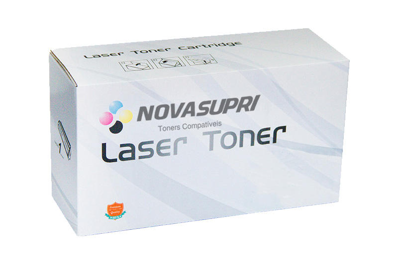 Compativel: Toner novasupri Samsung CLT-Y407S Amarelo - CLP-320 325 320N 325W CLX-3185 3185N 3185FN 3185FW