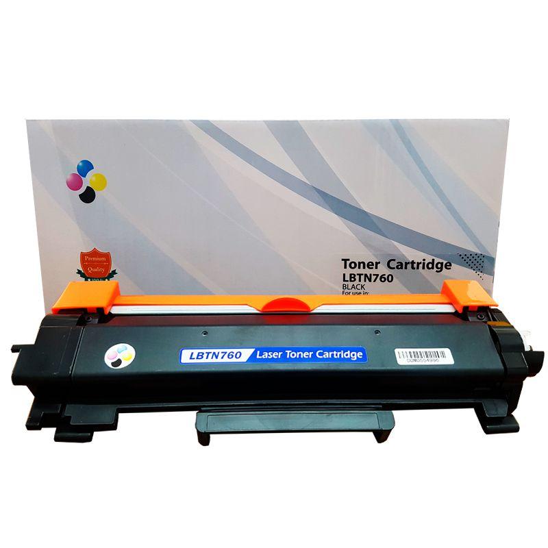 Compativel: Toner novasupri TN760 Brother L2550 L2370 L2390 L2395 L2710 L2750 3k