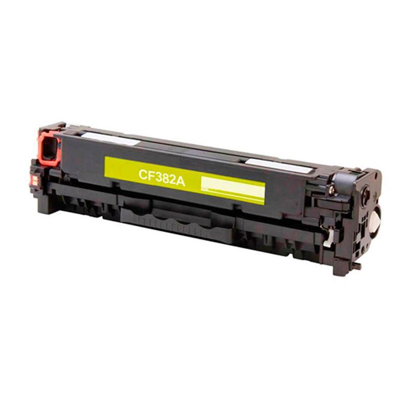 Compativel: Toner novasupri CF382 para HP 310A M476 M476NW M476DW Amarelo