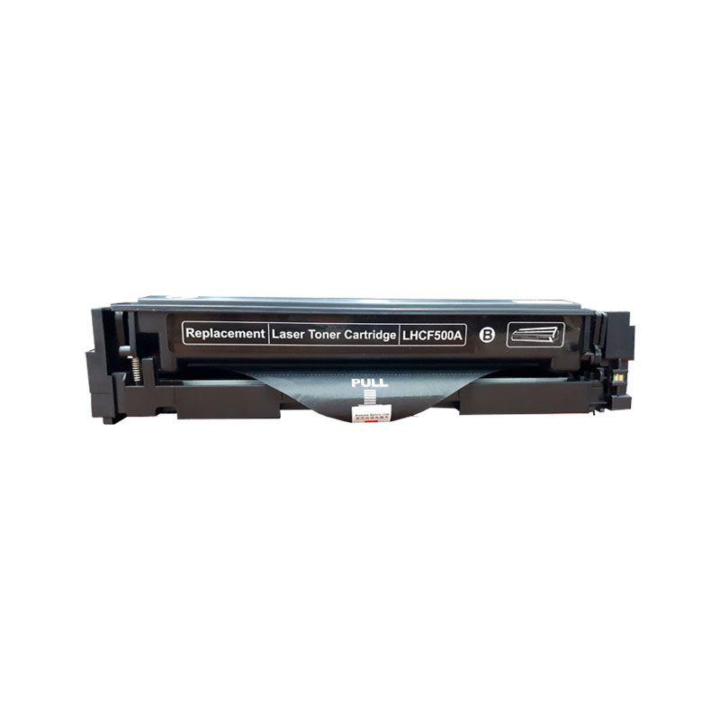 Compativel: Toner novasupri CF500 CF500A para HP M254 M280 M281 M281FDW M254DW Preto 1.4K