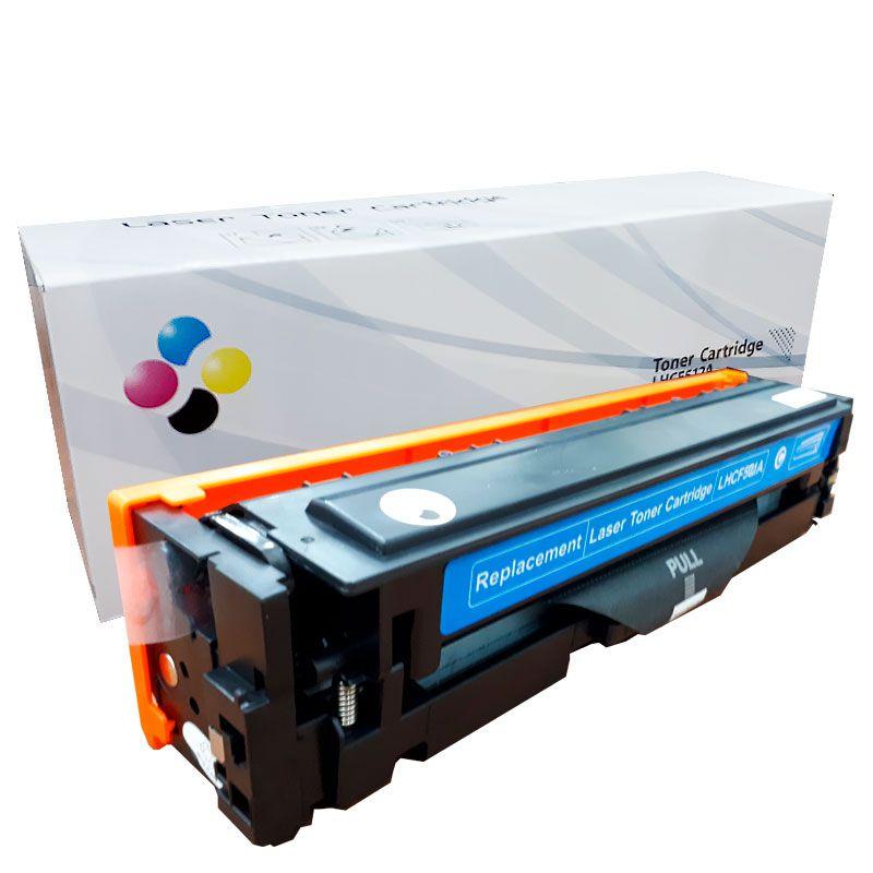 Compativel: Toner novasupri CF501 CF501A para HP M254 M280 M281 M281FDW M254DW Ciano 1.3K