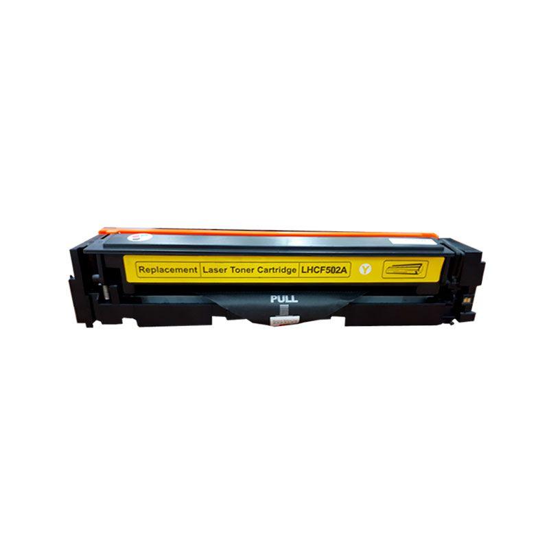 Compativel: Toner novasupri CF502 CF502A para HP M254 M280 M281 M281FDW M254DW Amarelo 1.3K
