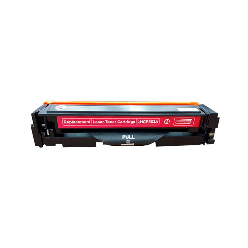 Compativel: Toner novasupri CF503 CF503A para HP M254 M280 M281 M281FDW M254DW Magenta 1.3K