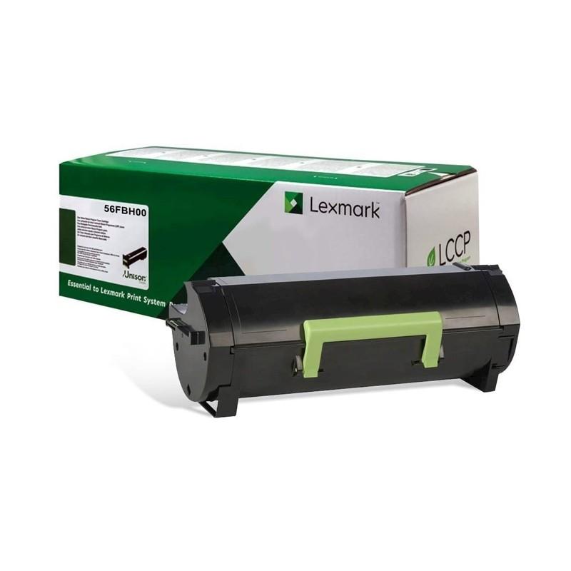 Toner Lexmark Original 56FBH00 56FBH MS521 MX521 MS621 MX522 MS622 MX622 MS321 MX321 MS421 Original 15k
