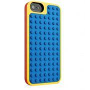 Capa  Para Iphone 5 / 5S / 5se Lego Azul/Amarelo