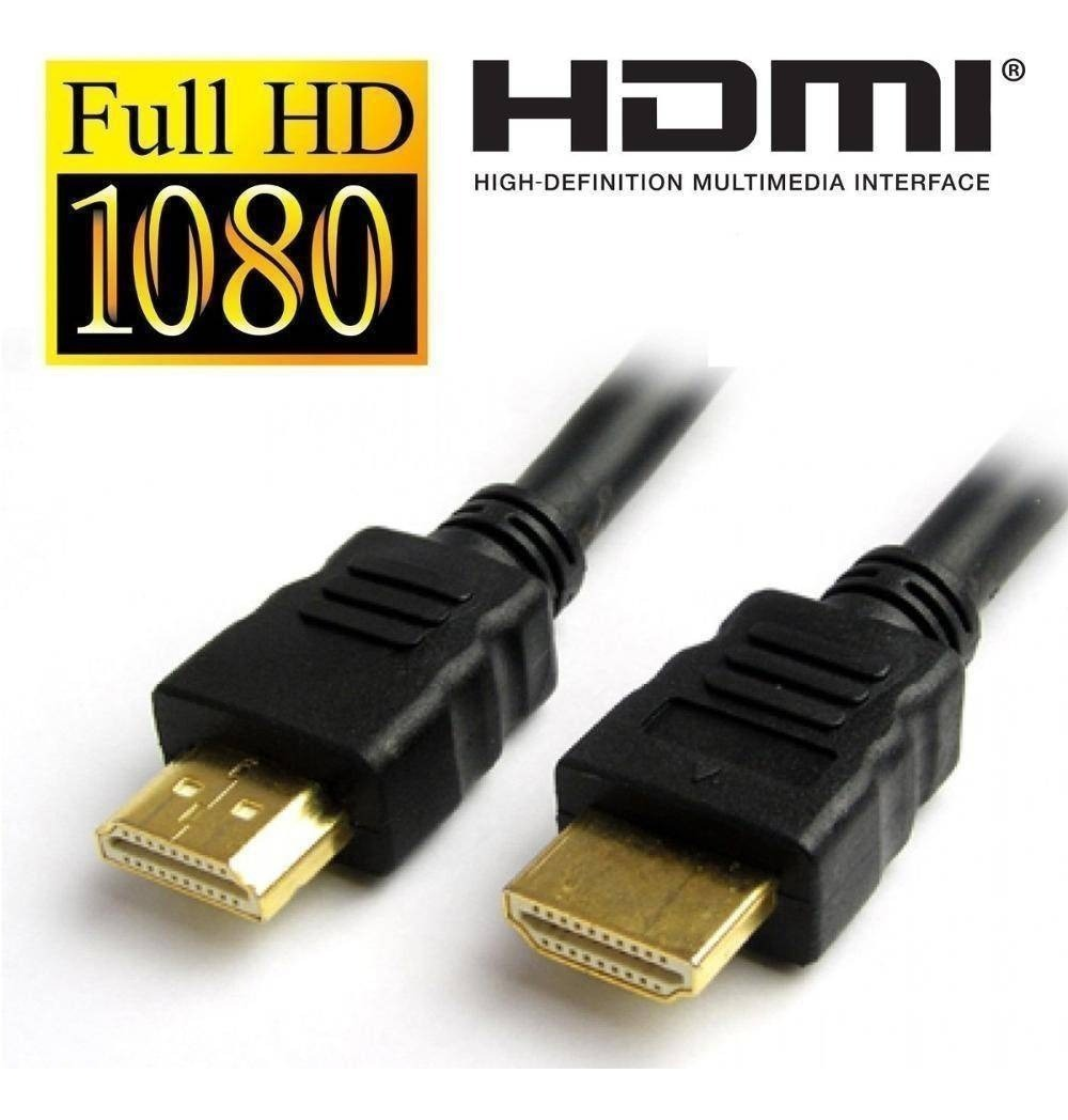 Cabo Hdmi Full hd 3 Metros Tv, Dvd, Home, Xbox, Ps3 - 1080p
