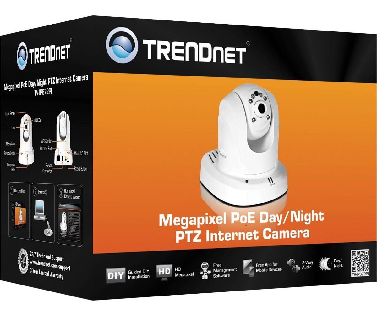 Camera de Video - Alta Definição IP - Poe Trendnet