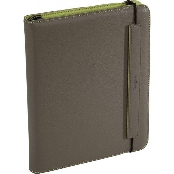 Capa Book Case Couro Sintético Para Ipad Luxo