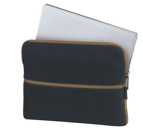 Capa Case Para Notebook 15.4 Polegadas Em Neoprene Preto