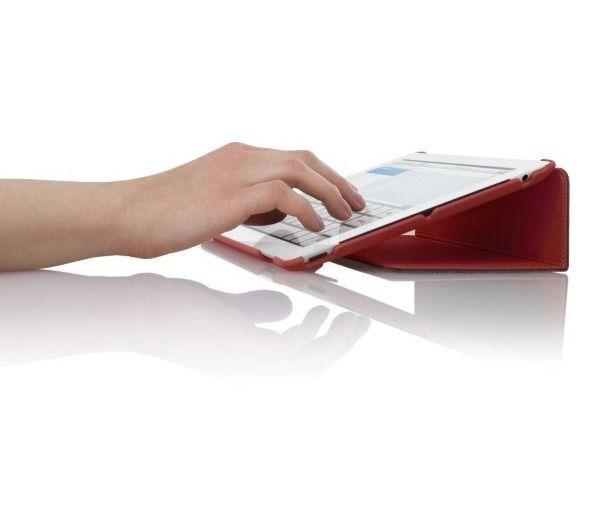 Capa Case Slim Para Ipad 3 Luxo Com Suporte Para Caneta