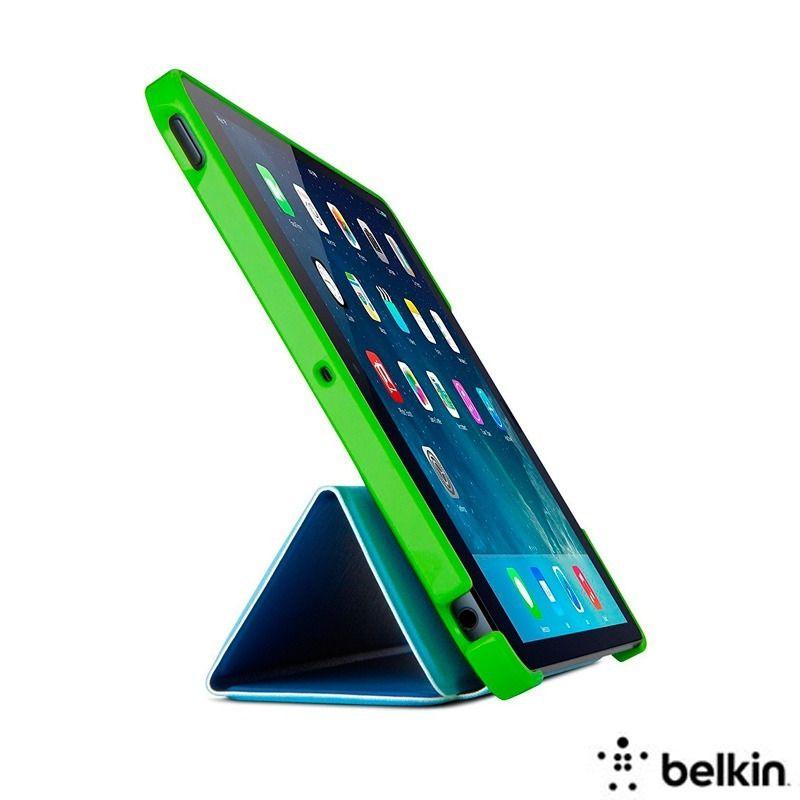 Capa Folio Belkin para iPad Mini LEGO Verde e Azul