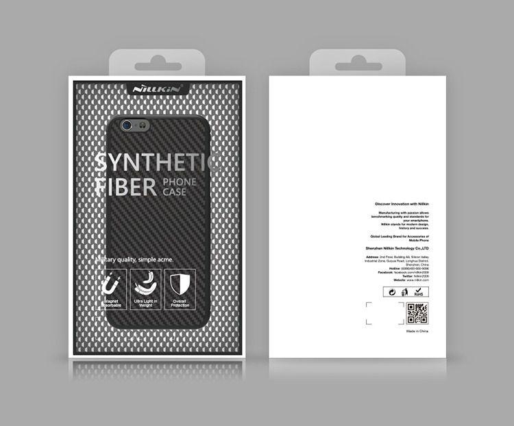 Capa Iphone 8 Nillkin Fibra De Carbono