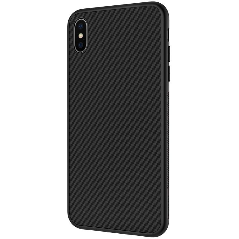 Capa Iphone X Nillkin Fibra De Carbono