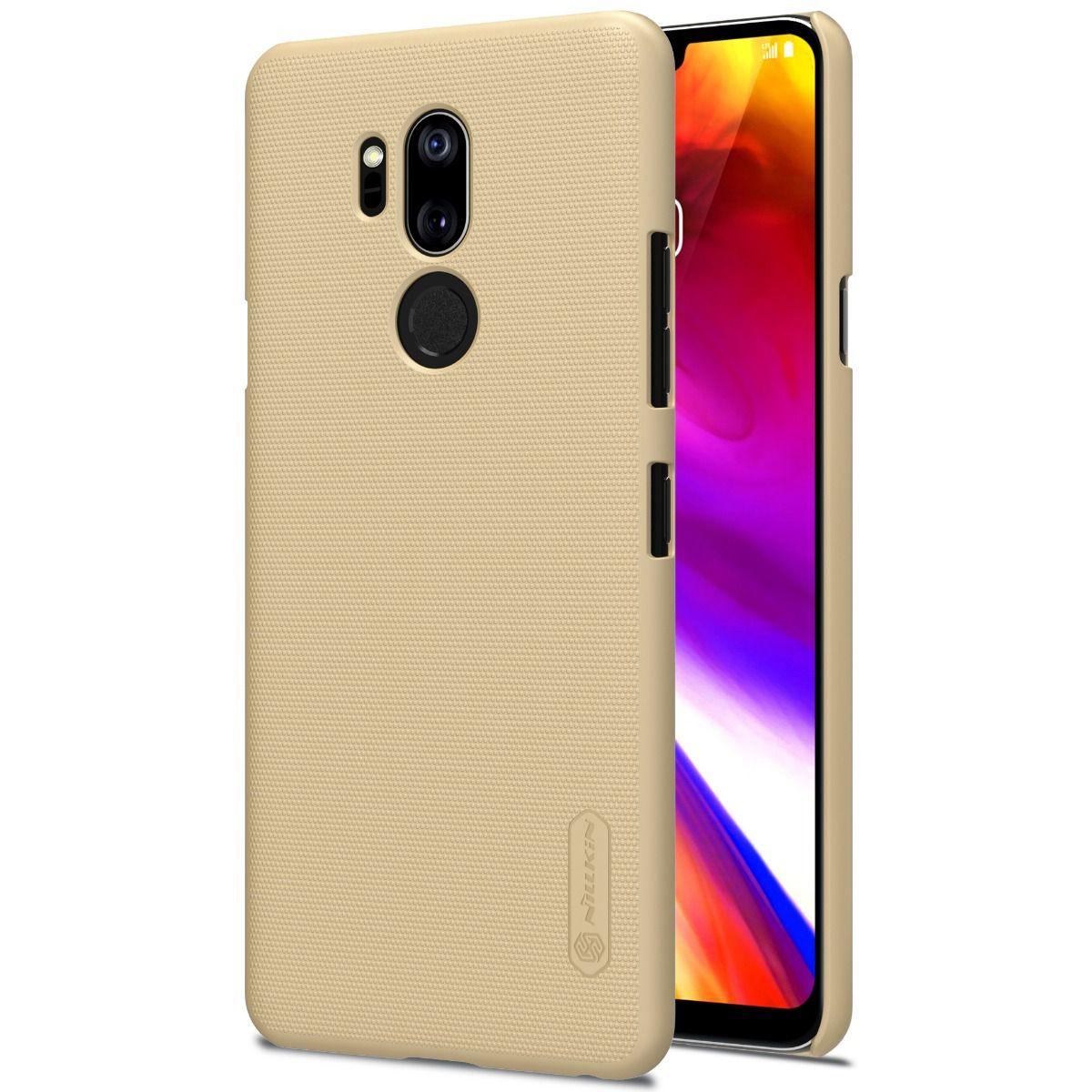 Capa Lg G7 Thinq | Nillkin Super Frosted | Original - Dourado
