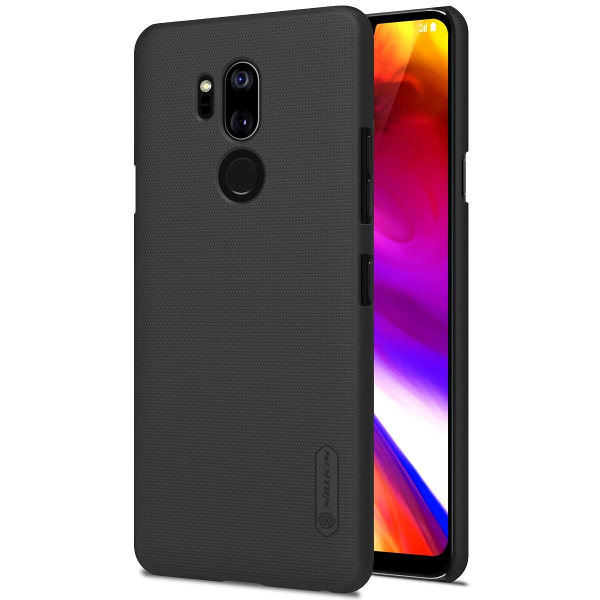 Capa Lg G7 Thinq | Nillkin Super Frosted | Original - Preto
