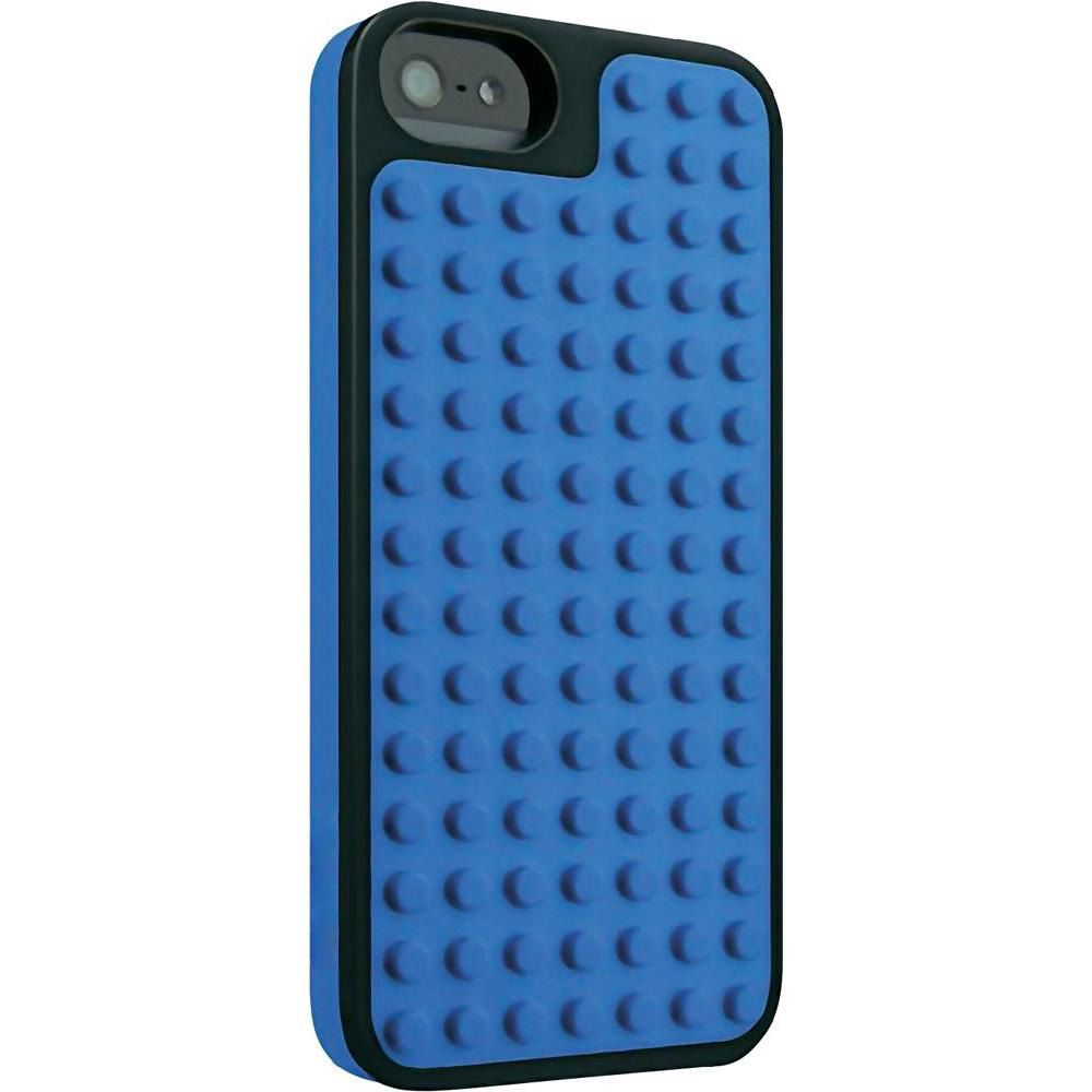 Capa  Para Iphone 5 / 5S / 5se Lego Azul/Preto