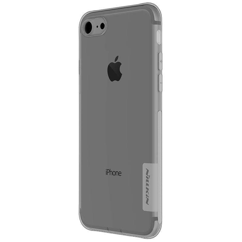 Capinha Case Iphone 7 / 8 Nillkin Nature Tpu Original Fumê