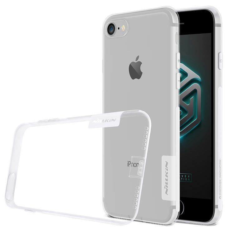 Capinha Case Iphone 7 / 8  Nillkin Nature Tpu Original Transparente
