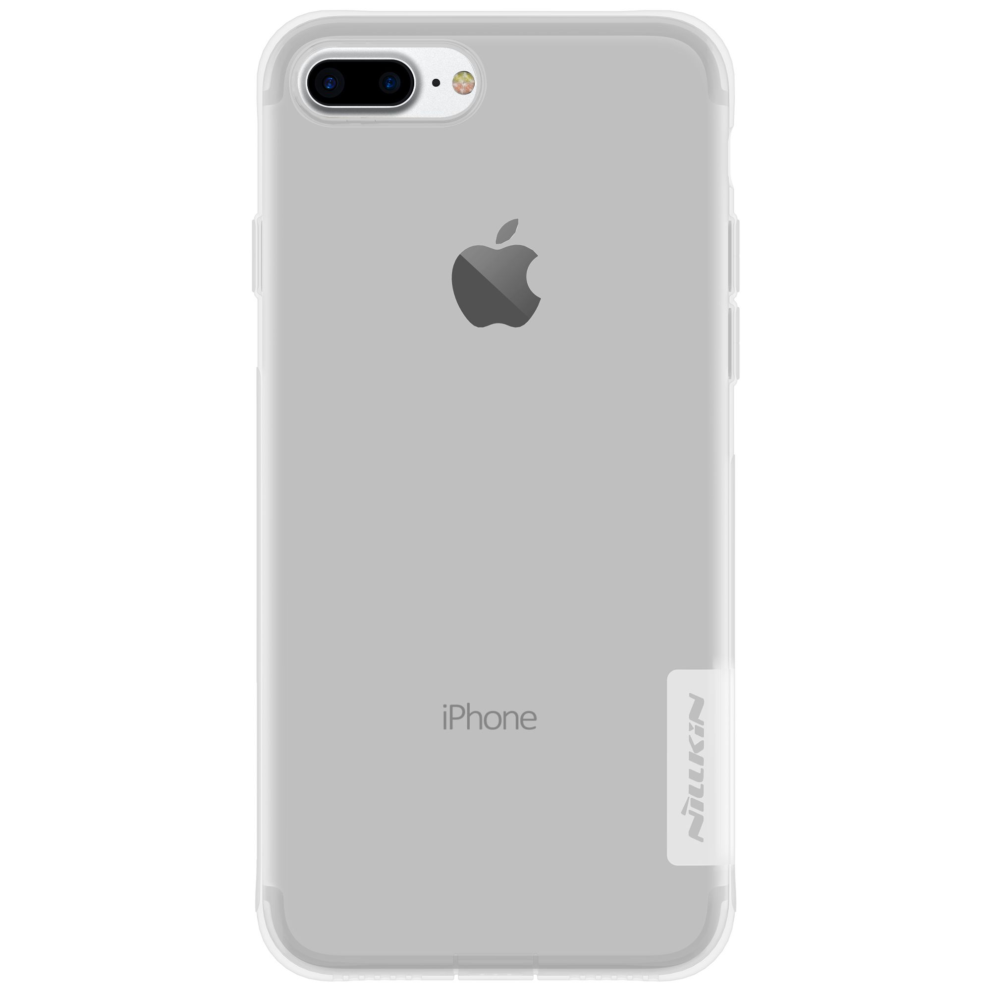 Capinha Case Iphone 7 Plus Nillkin Nature Tpu Original Transparente