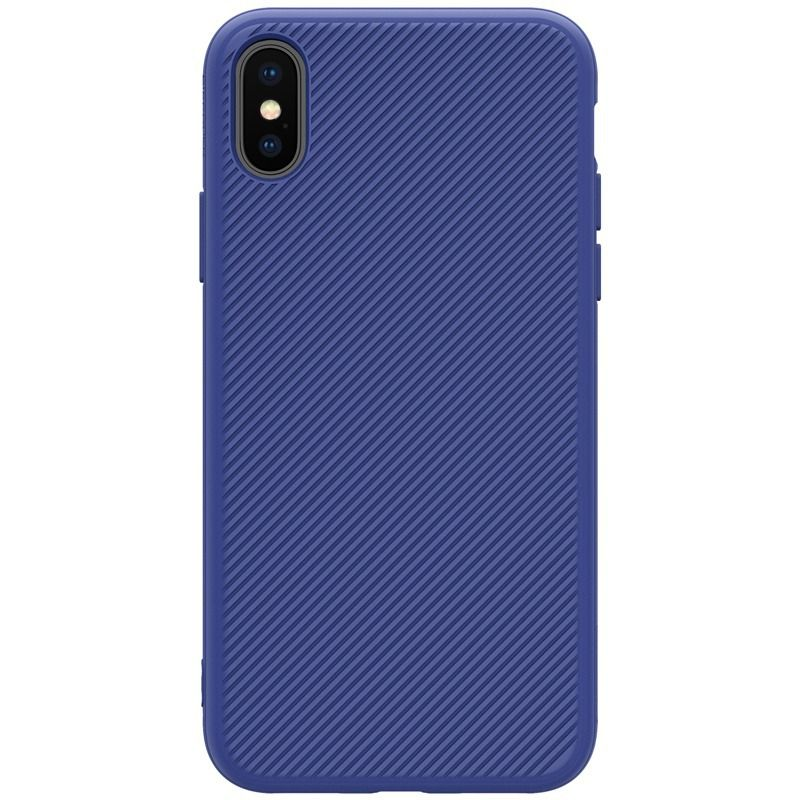 Capinha Case Nillkin Luxo Iphone X - Eton Case - Azul