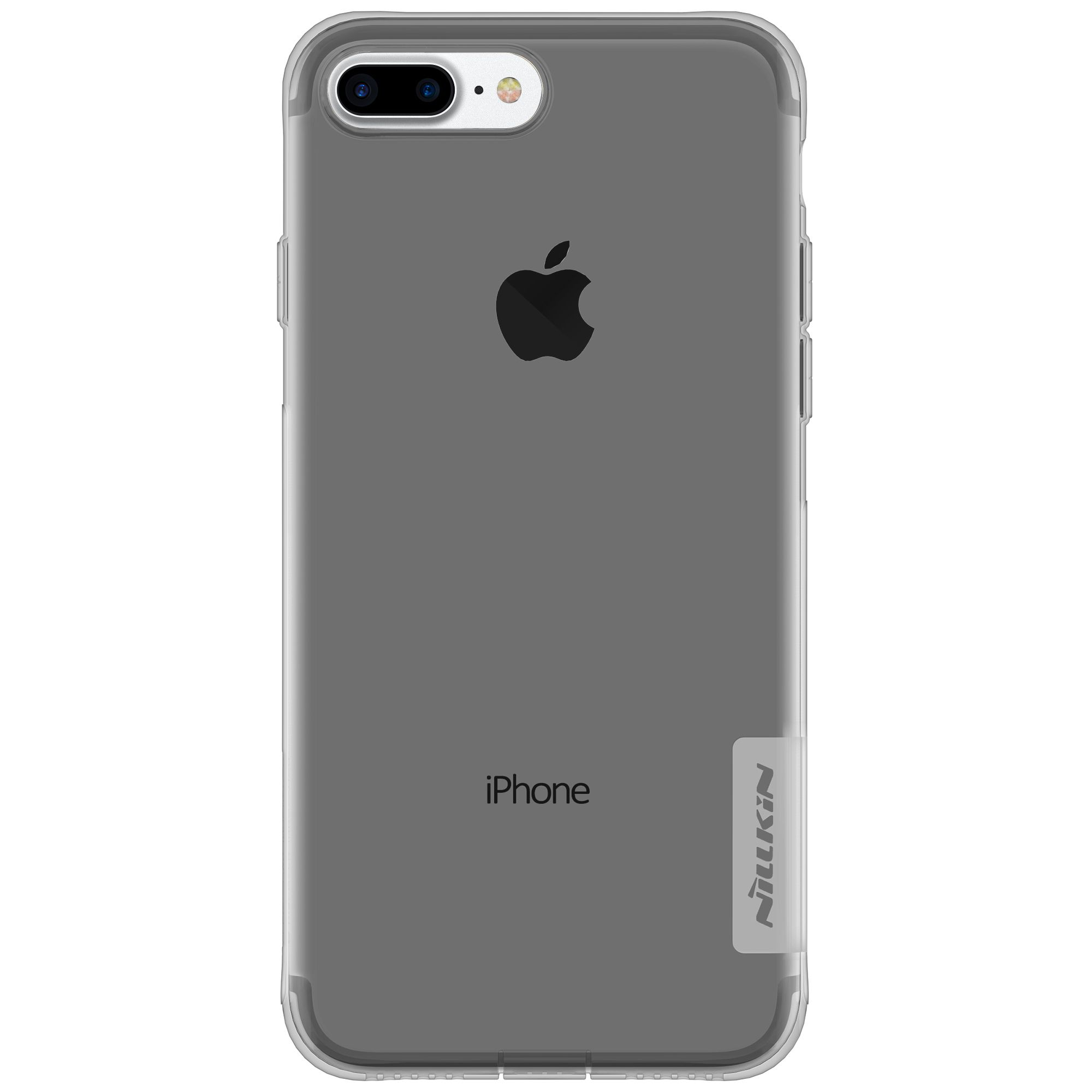 Capinha Case Iphone 7 Plus Nillkin Nature Tpu Original Fumê