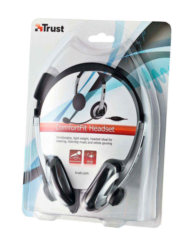 Fone de ouvido com microfone integrado - TRUST HEADSET