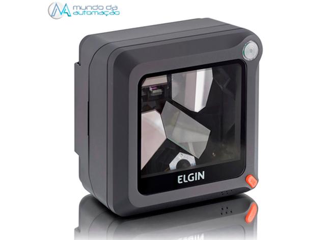 Leitor código de barras laser fixo EL4200 1D Elgin