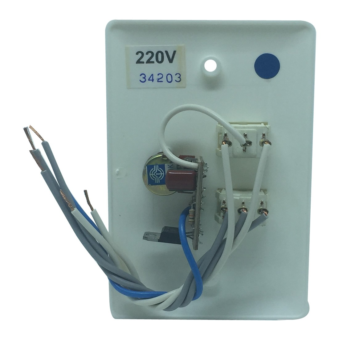 Chave Rotativa Universal Branca para Ventilador de Teto | Novoar