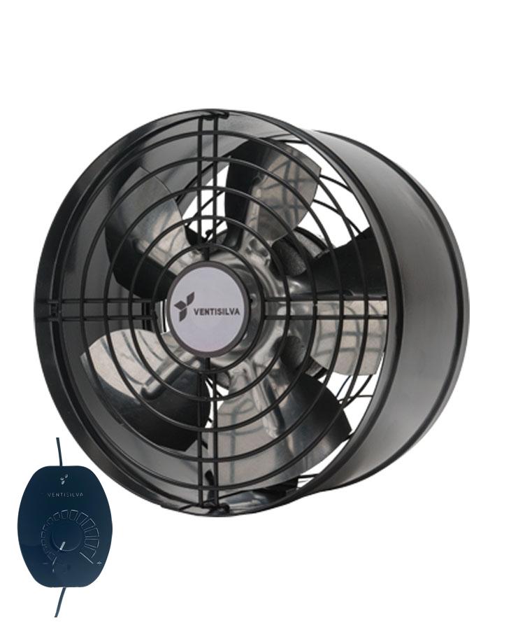Exaustor Axial Ø20cm | E20 Com Dimmer - Ventisilva