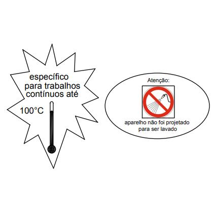 Exaustor Axial Ø30cm | EQ300 AT Alta Temperatura - Qualitas