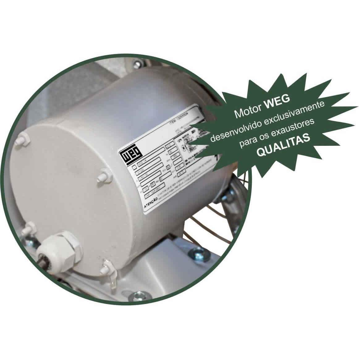 Exaustor Axial Ø30cm | EQ300 Motor WEG - Qualitas