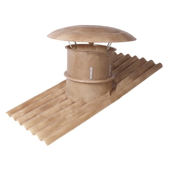 Exaustor Axial com Telhado Ø60cm | EQT600 - Qualitas