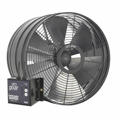 Exaustor Axial Pesado Com Inversor de Frequência Ø30cm | EP30 - GoAr