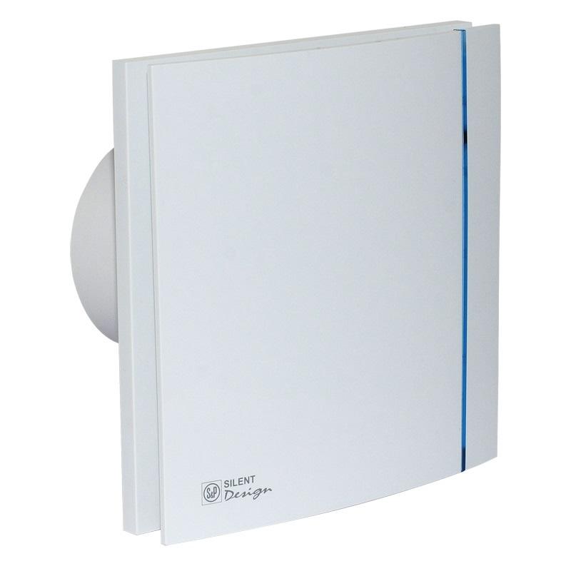 Exaustor para Banheiro | Silent - 100 Design - Soler & Palau