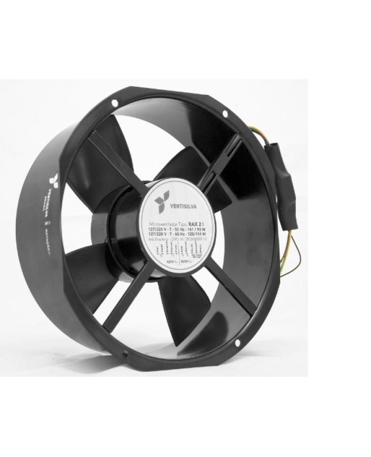 Microventilador Axial Ø25,6cm | RAX 2 - Ventisilva
