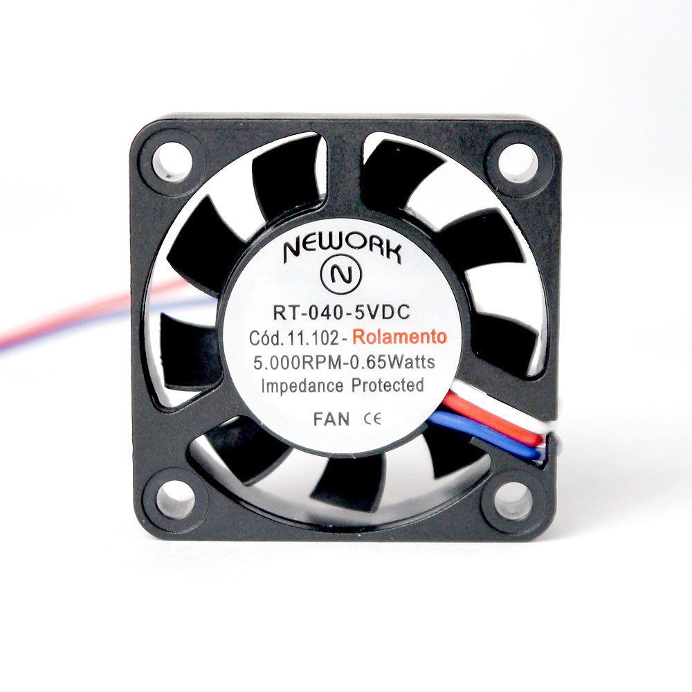 Miniventilador Axial Ø4cm | RT 040 - Nework