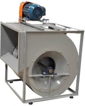 Ventilador Centrífugo De Dupla Aspiração - 3 HP   VCQ3 T4 - Qualitas