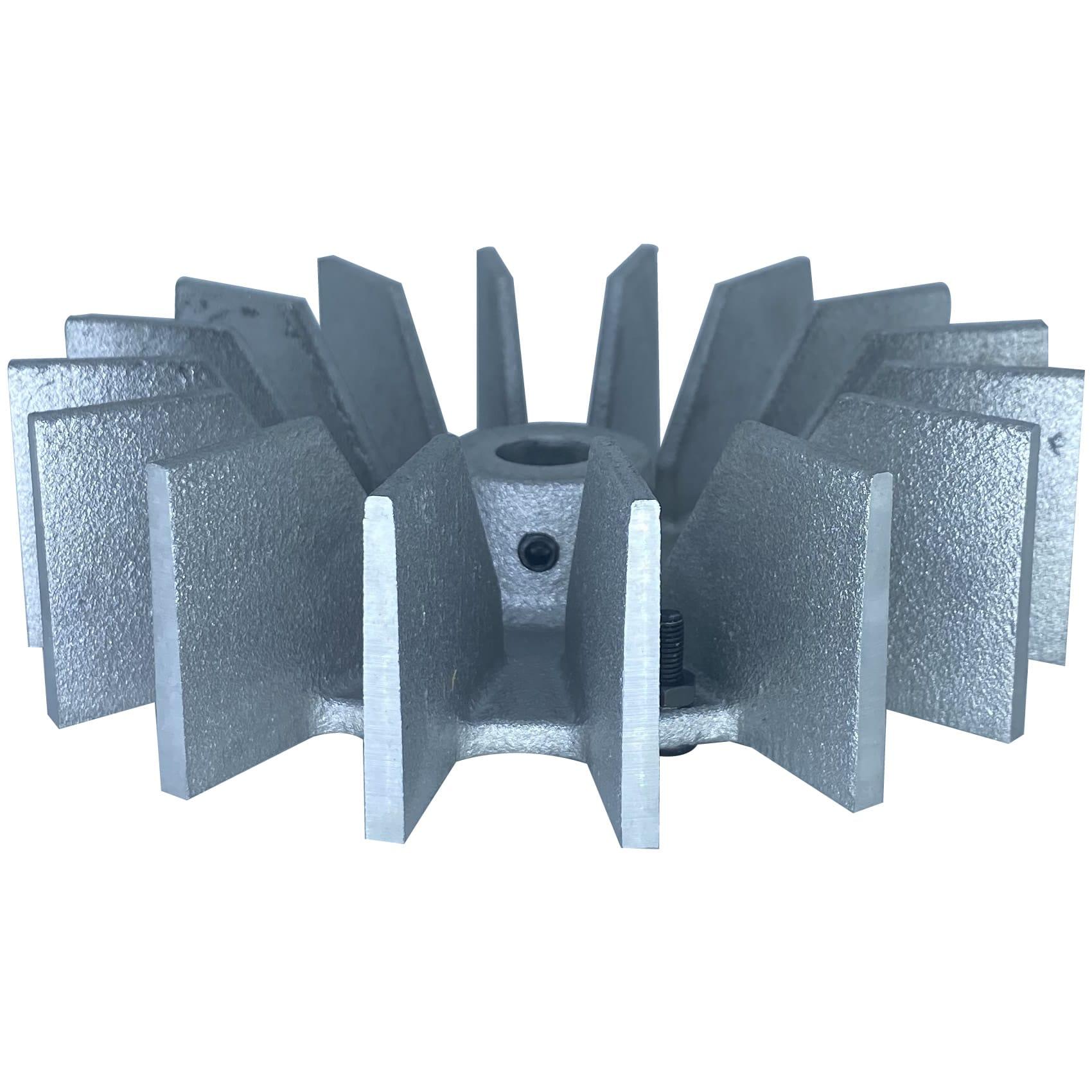 Ventoinha Radial Condor Alumínio | Ventisilva