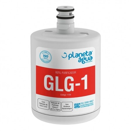 Filtro Refil Interno GLG-1  para Geladeira Refrigerador Side By Side - LG