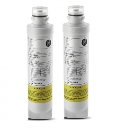 Filtro Refil para Purificador de Água Electrolux PE11B, PE11X, PC41B, PC41X, PH41B, PH41X, PAPPCA40 - Original Kit c/ 2 Peças