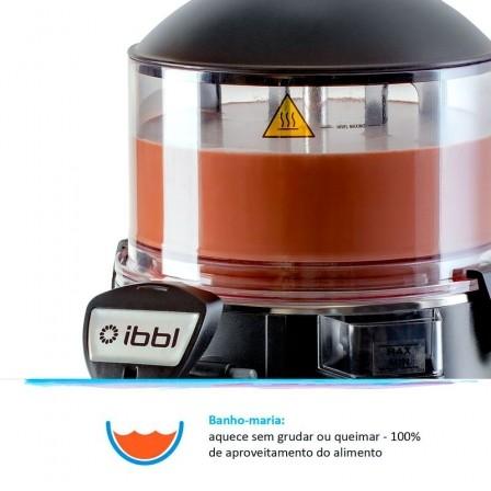 Hot Dispenser 5 / Chocolateira IBBL Preto