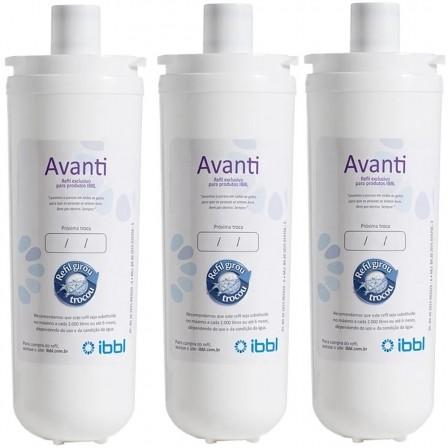 Refil Filtro Avanti Mio Vivax Original IBBL Kit 3 Peças