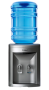 Bebedouro de Água para Garrafão Compact Prata IBBL