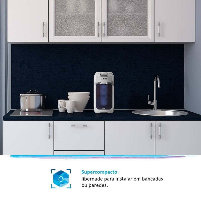 Purificador de Água VIVÁX IBBL Prata