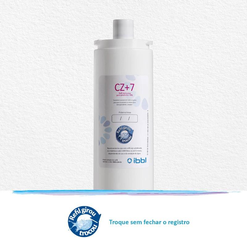 Refil Filtro Girou Trocou CZ+7 IBBL Original