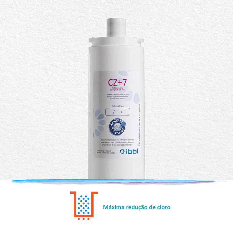 Refil Filtro Girou Trocou CZ+7 IBBL Original Kit 2 Peças