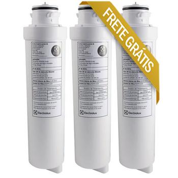 Refil para Purificador de Agua Electrolux PE10B/PE10x Kit 3 peças