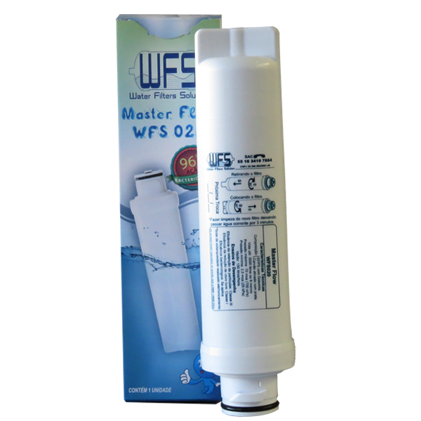 Filtro Refil Para Purificador De Água Electrolux Compatível PE10B e PE10X